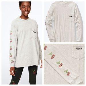 New 💕 vs pink campus shirt